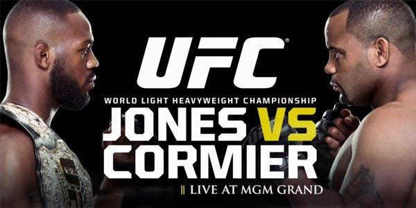 Заложете на ММА срещата Джоунс срещу Кормиер