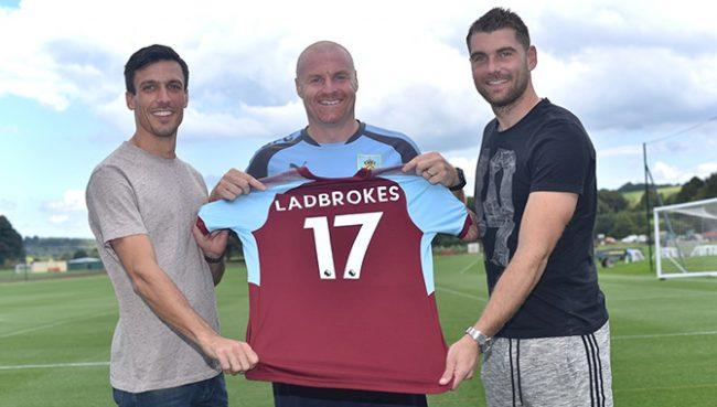Ladbrokes сключи спонсорска сделка с Бърнли