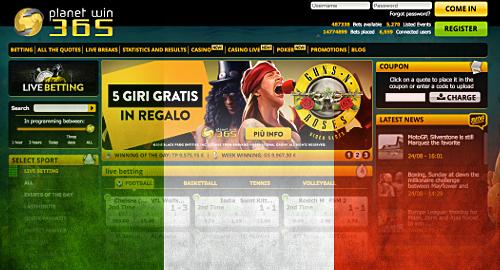 Лидерите на италианския онлайн хазартен пазар за юли месец