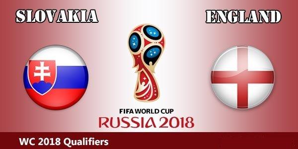 Англия – Словакия