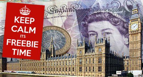 Ladbrokes Coral дарява най-много безплатни подаръци на депутатите в UK