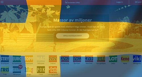 Ръстът на Svenska Spel изпреварва международните хазартни сайтове