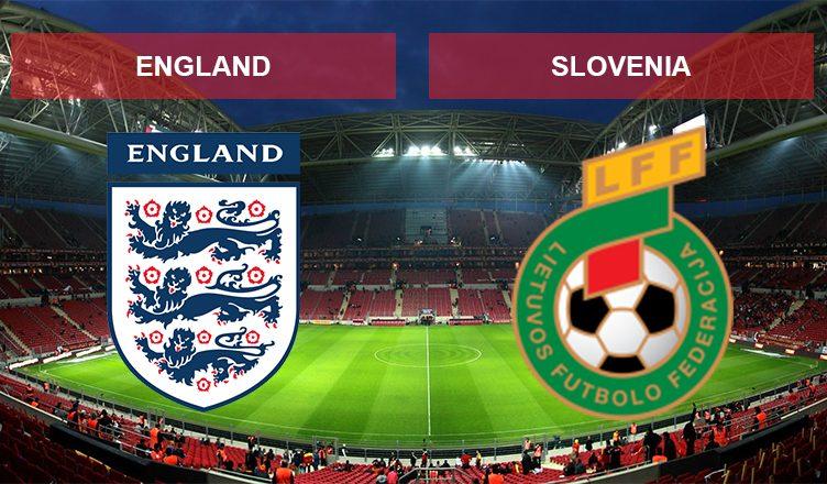Англия - Словения
