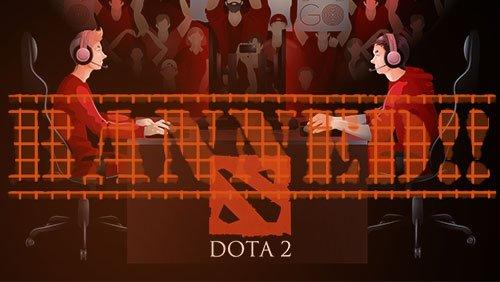 ESIC банна двама Dota 2 играчи за уреждане на мачове
