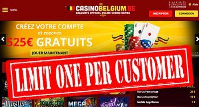 Белгия забранява на онлайн хазартните сайтове да предлагат повече от един продукт от един URL адрес