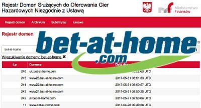 Bet-at-home продължава да печели, въпреки забраната в Полша