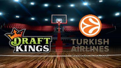 DraftKings подписва стрийминг партньорство с Евролига баскетбол