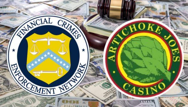 Казино в Калифорния е глобено с $8 млн. за нарушения на AMLv