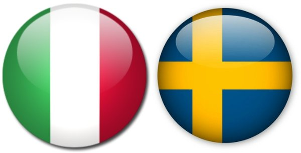 Швеция – Италия