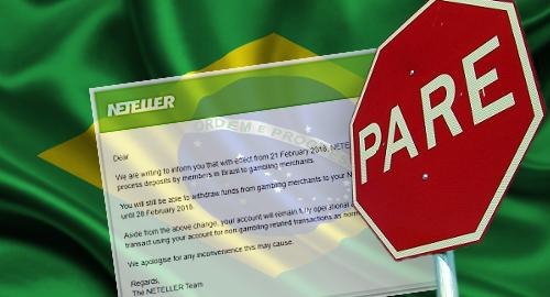 Neteller и Skrill прекратяват хазартните транзакции в Бразилия