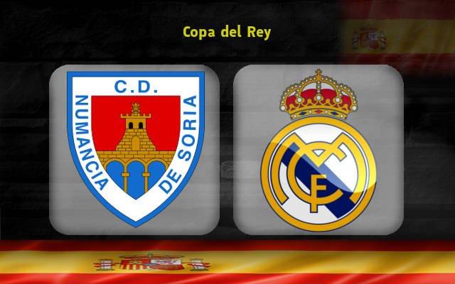 Нумансия - Реал Мадрид