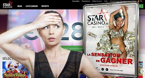 Star Casino в Белгия има 1000 билборда, смятани за сексистки