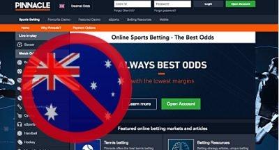 Онлайн букмейкърът Pinnacle отряза австралийски клиенти