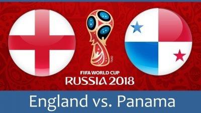 Англия - Панама