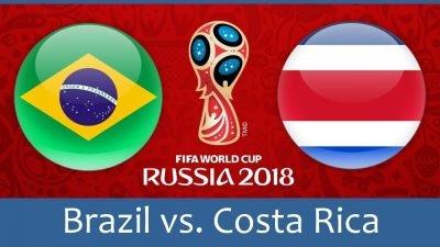 Бразилия - Коста Рика