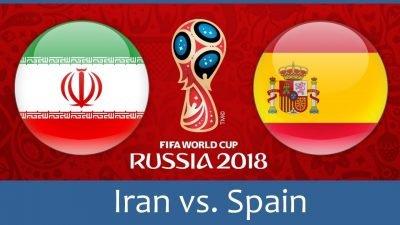 Иран - Испания