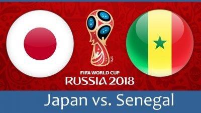 Япония - Сенегал