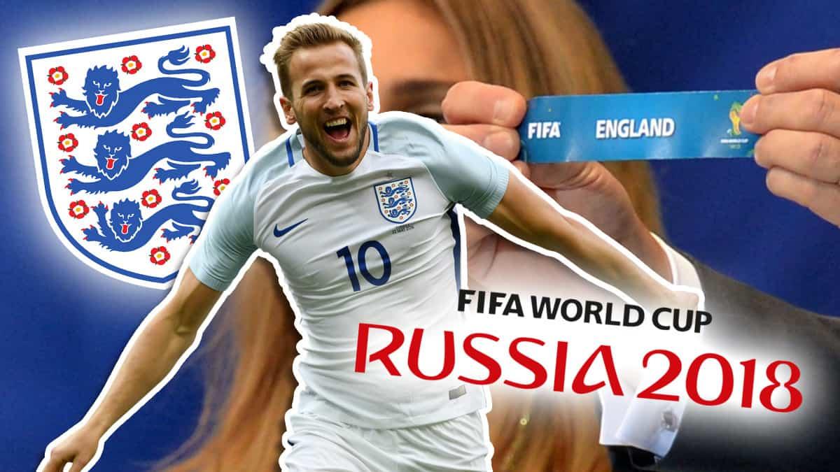 Англия на Мондиал 2018