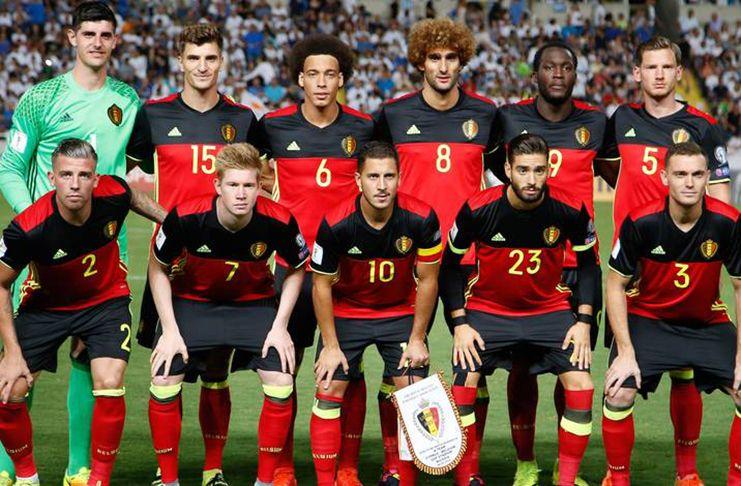 Белгия на Мондиал 2018