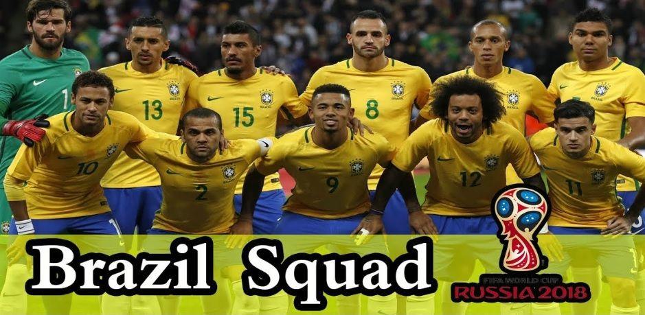 Бразилия на Мондиал 2018