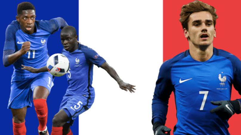 Франция на Мондиал 2018