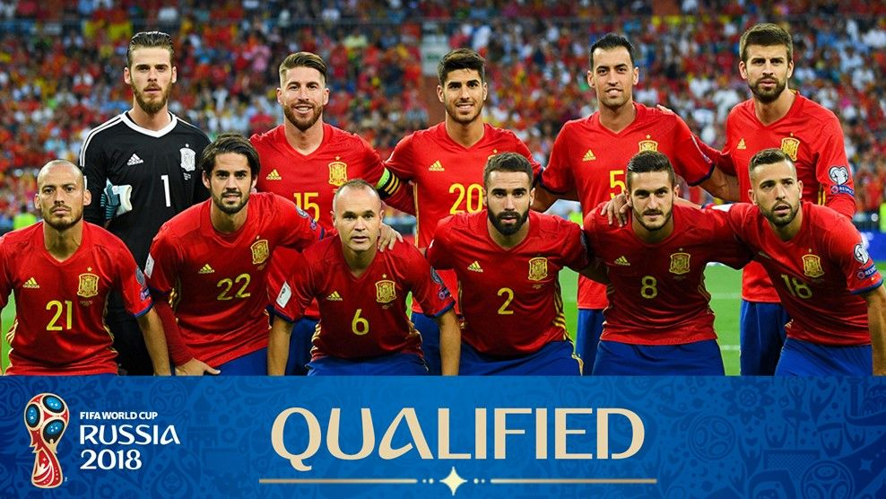Испания на Мондиал 2018