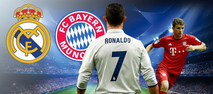 Реал Мадрид - Байерн Мюнхен