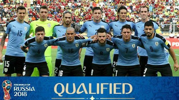Уругвай на Мондиал 2018