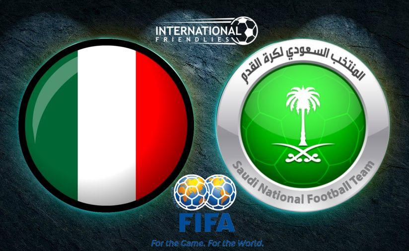 Италия срещу Саудитска Арабия