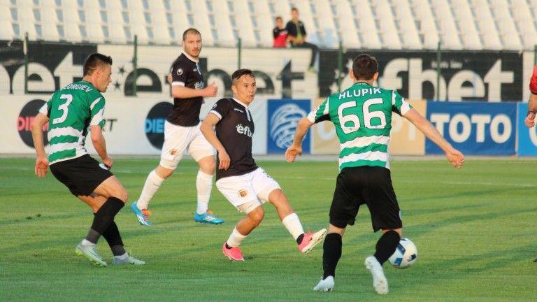 Локомотив Пловдив срещу Черно море