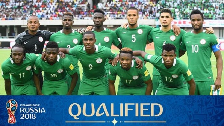 Нигерия на Мондиал 2018