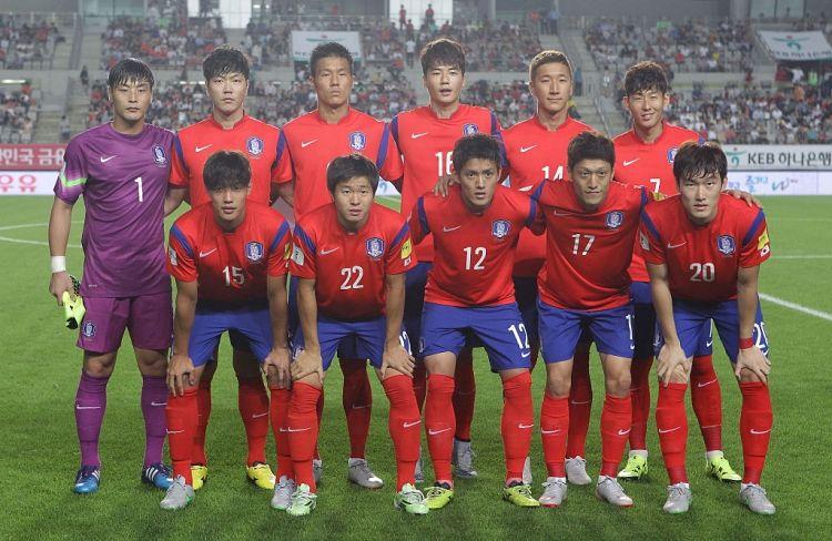 Южна Корея на Мондиал 2018