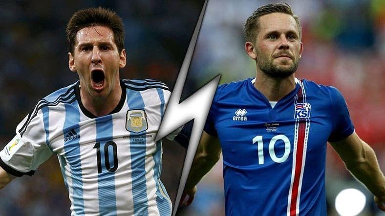 Аржентина срещу Исландия