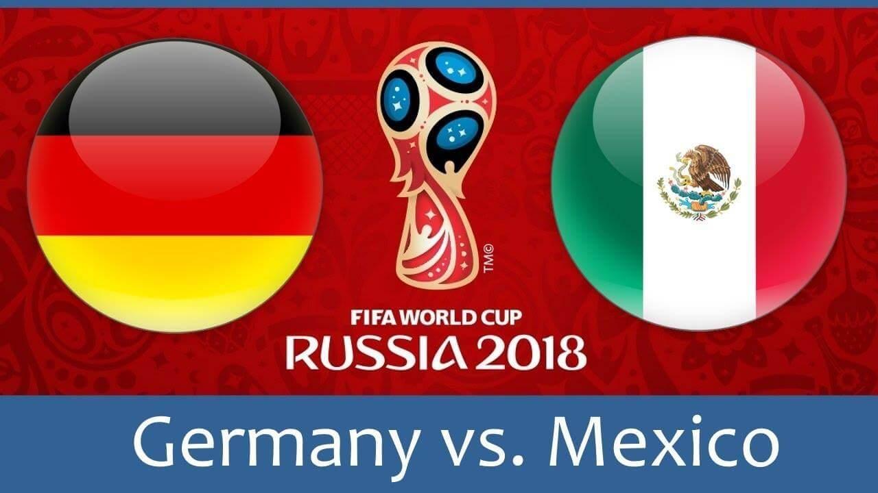 Германия срещу Мексико
