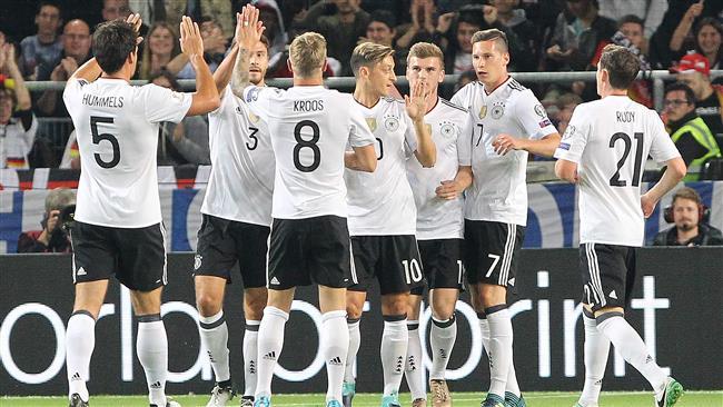Германия срещу Саудитска Арабия