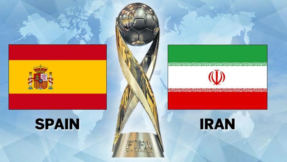 Иран срещу Испания