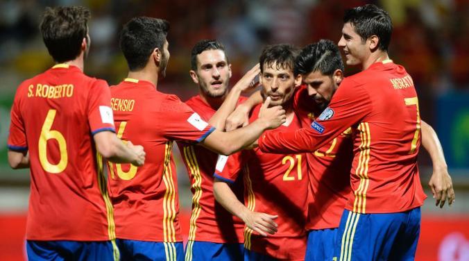 Испания срещу Тунис