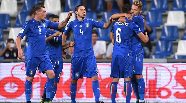 Италия срещу Холандия