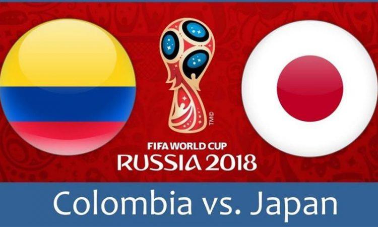 Колумбия срещу Япония