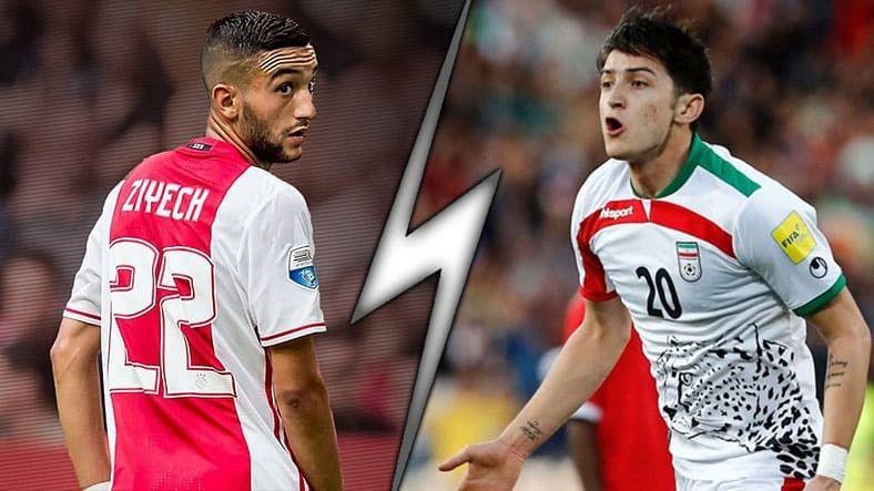 Мароко срещу Иран