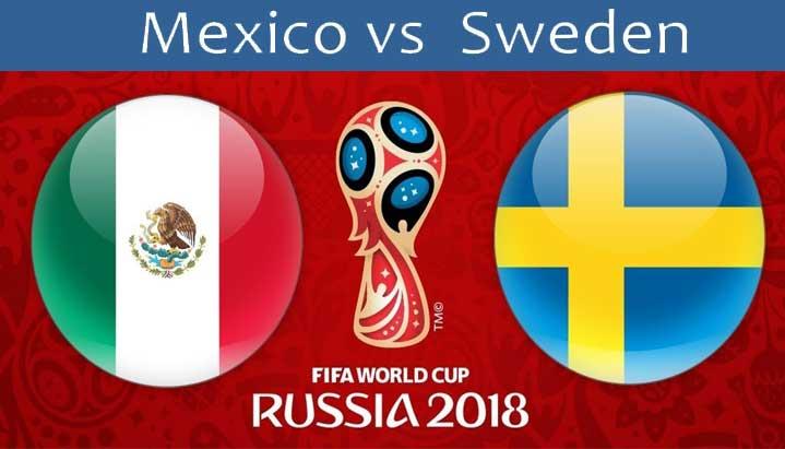 Мексико срещу Швеция