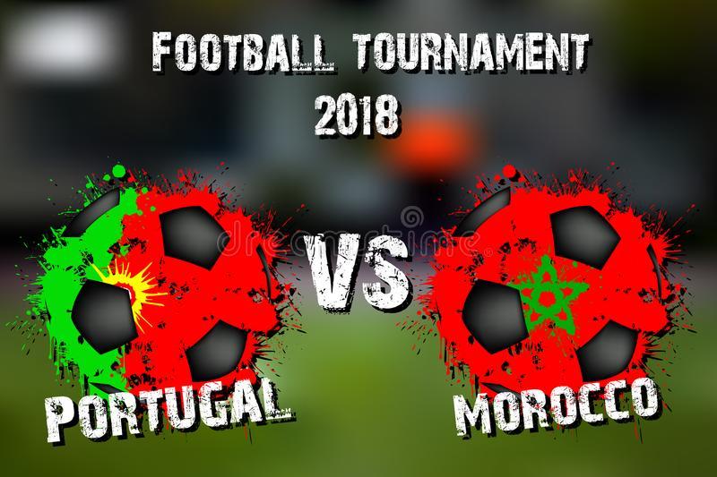 Португалия срещу Мароко