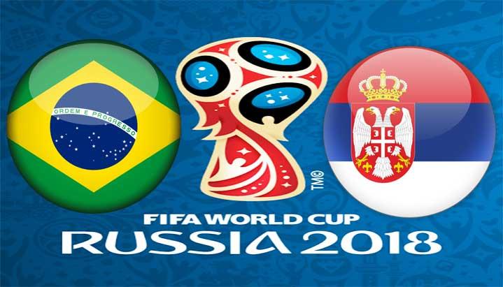 Сърбия срещу Бразилия