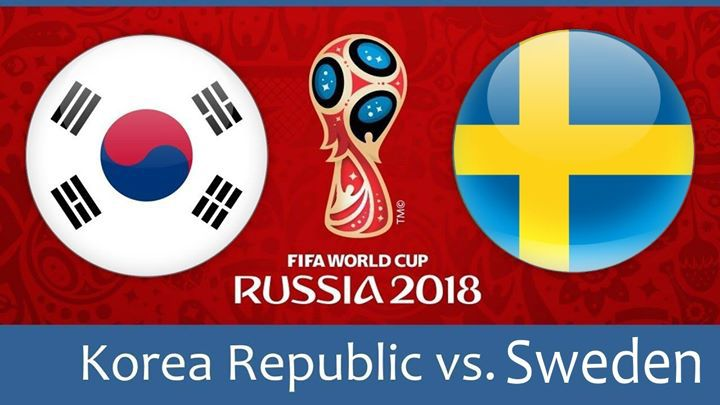 Швеция срещу Южна Корея