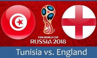 Тунис срещу Англия