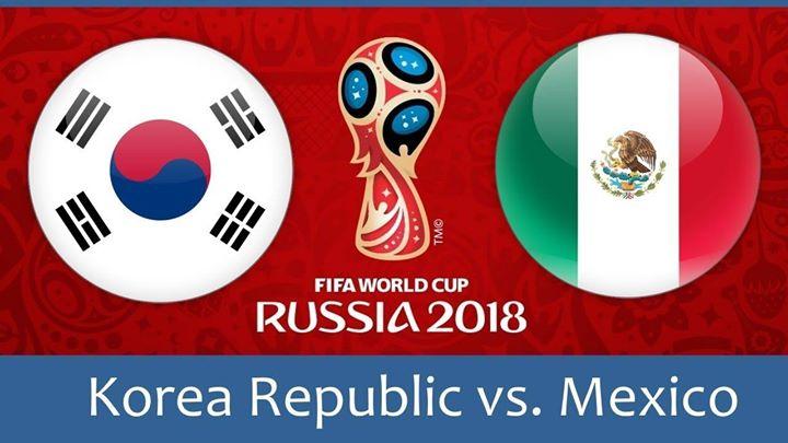 Южна Корея срещу Мексико