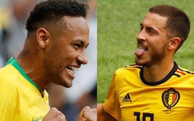 Бразилия срещу Белгия