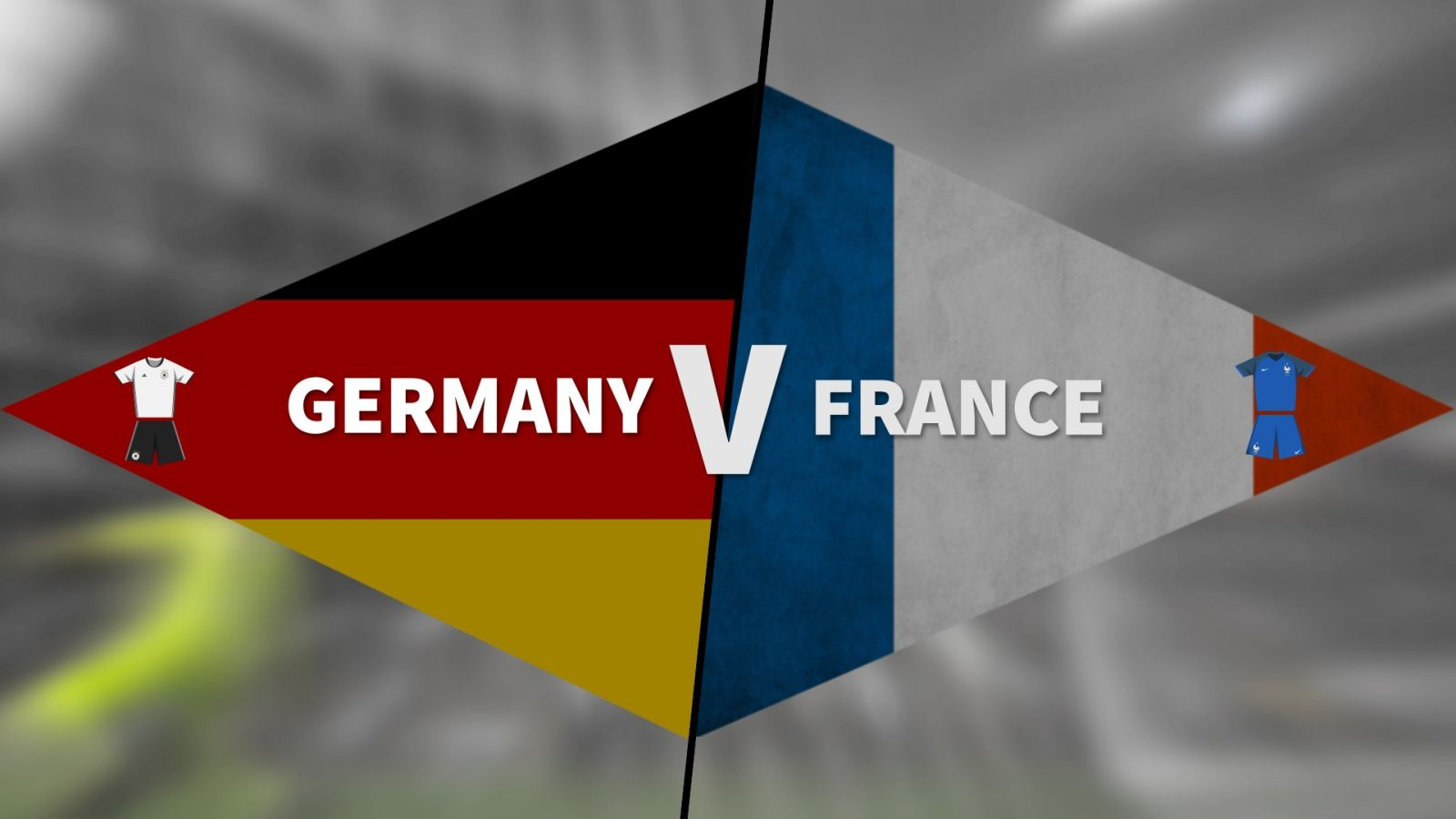 Германия срещу Франция