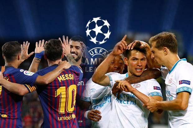 ПСВ срещу Барселона