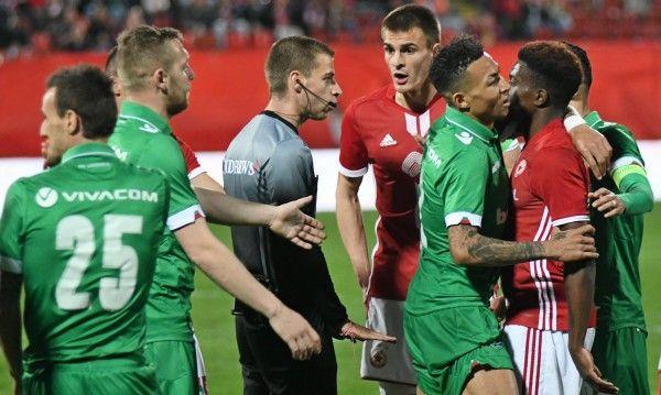 ЦСКА срещу Лудогорец